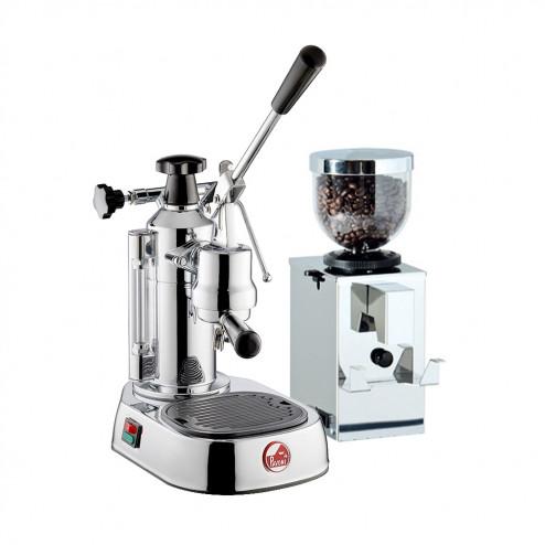 La Pavoni Europiccola EL LPLELQ01EU & Isomac Macinino Professionale