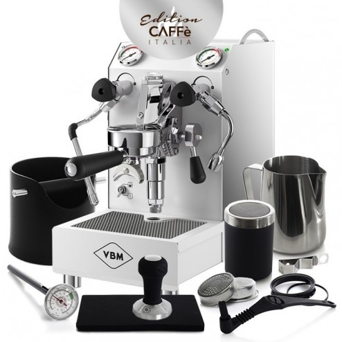 Vibiemme Domobar Junior HX White Caffè Italia Kit Edition 2