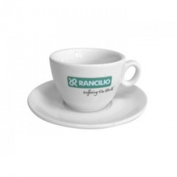Rancilio Cappuccino Cups And Saucers - Set Of 6 pieces