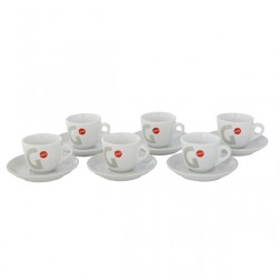 Gaggia Milano 6 Cups And Saucers