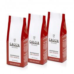 Gaggia Jauhettu kahvi 3 x 250 g
