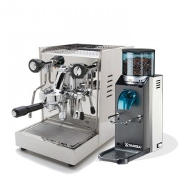 Quick Mill Anita 0990 & Rancilio Rocky SD