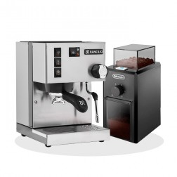 Rancilio Silvia V6 E 2020 Latest Edition + De Longhi KG79