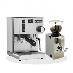 Rancilio Silvia V6 E 2020 Latest Edition + Isomac Macinino Professionale