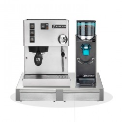 Rancilio Silvia V6 E 2020 Latest Edition+ Rancilio Rocky SD + Rancilio BS50