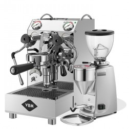 Vibiemme Domobar Junior 2B + Mazzer Mini Electronic Model A