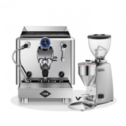 Vibiemme Lollo Puoliautomaattinen 1G & Mazzer Mini Electronic Model A